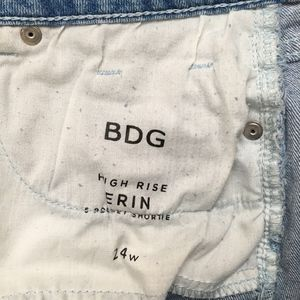BDG Shorts - BDG UO High Rise Erin Highwaist Denim Jean Shorts